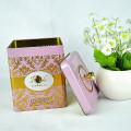 Customized Promotional High Quality Chinese Tea Tin Box, Tin Box for Tea