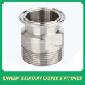 Adaptador sanitario NPT macho (19-14MP NPT)