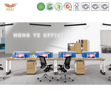 New Office Wooden Workstation Office Cubicles with Metal Leg (H90-0209)