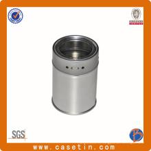 Круглый пряный металлический контейнер, металлический пряный металлический контейнер, пряный металлический контейнер