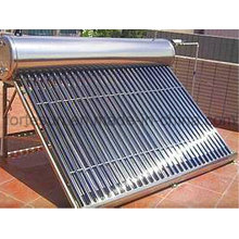 Edelstahl-Schwerkraft-Druck-Vakuumschlauch-Solarwarmwasserbereiter