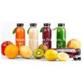 Bouteille en plastique à jus de couleur avec bouchon à vis Bouteille d'eau potable pour boissons alimentaires pour animaux