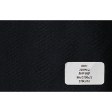 Four Colors of Serge Wool Fabric