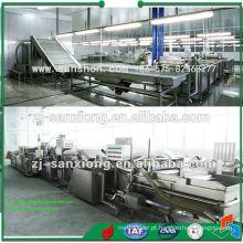 Linha de produção de pré-secagem de frutas e produtos hortícolas