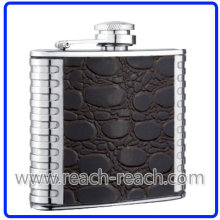 18/8 High Quality Stainless Steel Hip Flask (R-HF019)