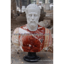 Head Statue Bust Sculpture with Stone Marble Granite Sandstone (SY-S314)