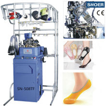 Durables calcetines máquina con todo para hacer punto automatizada