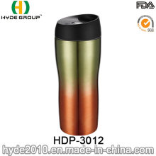 BPA Free Stainless Steel Travel Coffee Mug with Screw Lid (HDP-3012)