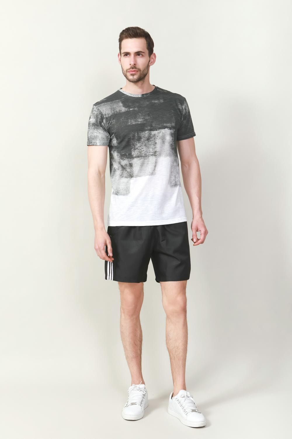Men's fading print t-shirt