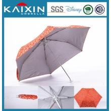 Зонтик с зонтом от солнца на открытом воздухе с большим зонтиком, Зонтик с откидным верхом, Складной зонтик с 3-мя складными зонтами