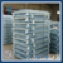 Foldable Galvanized Steel Wire Basket Pallet