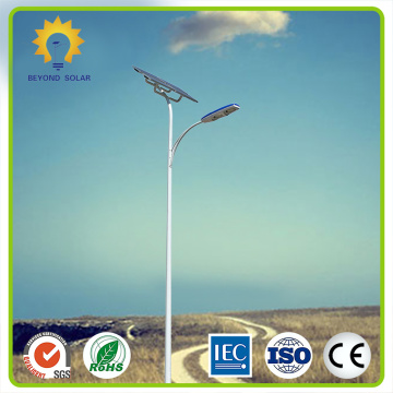Lámpara de calle LED solar impermeable