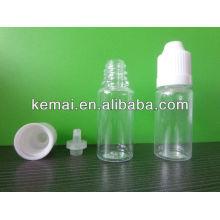 Bouteille en plastique pour le tabac