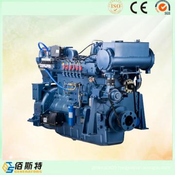 250kVA China Trailer Weichai Diesel Power Marine Engine