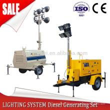 gerador de torre de luz com energia