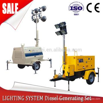 générateur de tour d'éclairage avec puissance