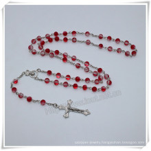 6mm Beads Rosary/Beads Rosary/Wholesale Catholic Rosary Necklace/Catholic Rosary with Centerpiece (IO-cr401)