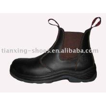 bottes de sécurité à côtés élastiques