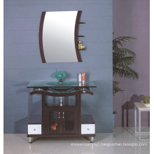 Glass Sink Bathroom Cabinet (B-607)