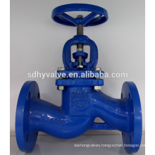 DIN Standard cast iron globe valve PN16