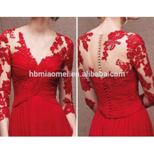 The new amazon Europe and the United States Long lace evening dress big boobs wedding dress