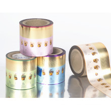 Plastic Rollstock Twist Film for Chocolate and Candy Packaging