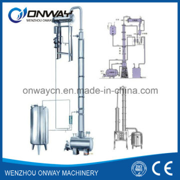 Jh Hihg Efficient Factory Price Stainless Steel Solvent Acetonitrile Ethanol Distillery Equipments Alcohol Recovery Tower