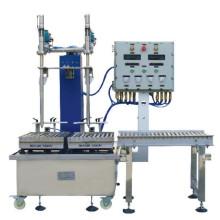 GCJ 01-50 III B Bottom Charging Type Semi-Automatic Liquid ink filler