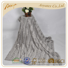 latest style high quality pv fleece baby blanket