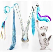 Interactive Kitten Cat Wand Toy