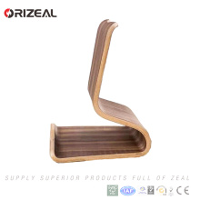 Hot-pressing Technology Plywood Phone Holder For Desk Good Stationery For Office Release Your Hand