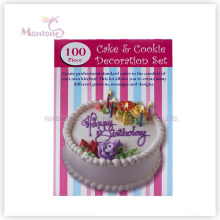 Backformen Kuchen Werkzeuge 100 STÜCKE Kuchen Cookie Dekoration (set)