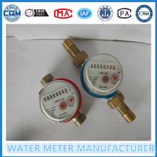 Ein Jet Single Wasser Durchflussmesser