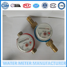 Um medidor de vazão de água único para jato