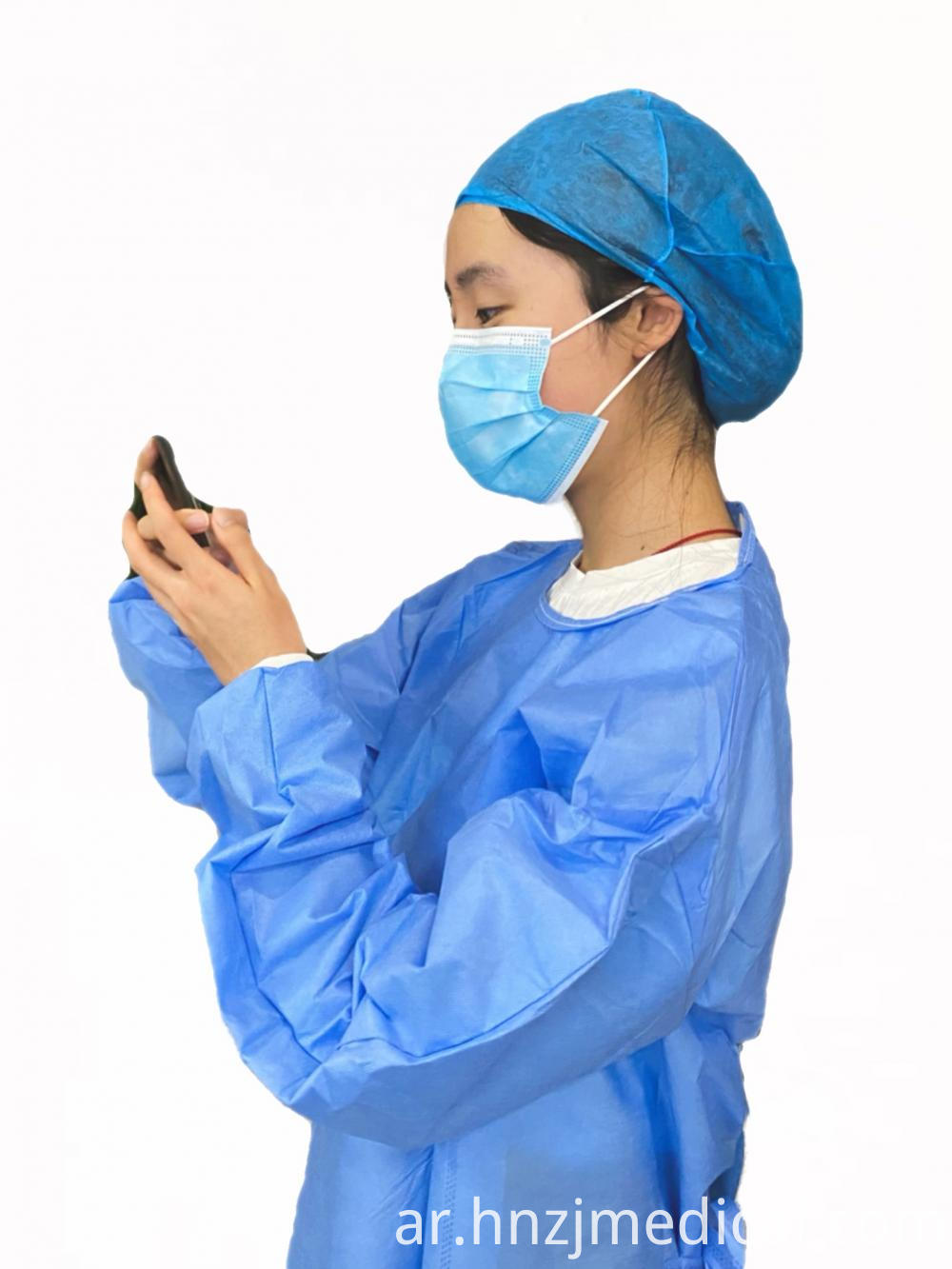 Non-Flammable Surgical Gown