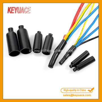 Mini kabel PVC Heat Shrink Sealing End Cap