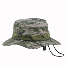 Whosale Custom Camo Plain Bucket Hat with String