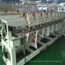 New 8 Head 12 needles Computer T-shirt Embroidery Machine jackets jeans curtain blouses pirce
