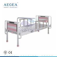 AG-BYS202 Al-alloy handrails pediatric hydraulic metal hospital manual child bed
