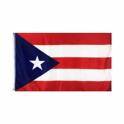 Kundenspezifisches Design Polyester Puerto Rico Nationalflagge