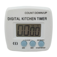 Digital kitchen timer count up/down function