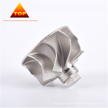 Drawing customized CoCrW AMS 5387 turbo impeller