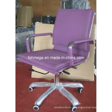 Silla acolchada púrpura del personal de oficina de Eames (FOH-MF26-B)