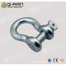 Galvanized 209 US Type Screw Pin Anchor Shackle