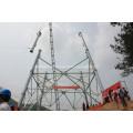 Poste de desmotadora para la construcción de torres