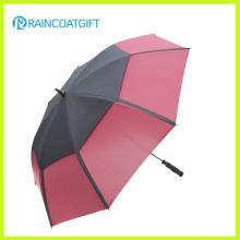 30inch Double Canopy Windproof Straight Golf Umbrella