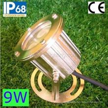 Ip68 Сид 9W СИД подводный Прожектор, светодиодный бассейн свет