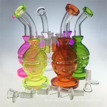 """The """"Colorship"""" Mothership Inspired Faberge Glass Smoking Water Pipe (ES-GB-420)"""
