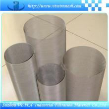 Cilindro de filtro de acero inoxidable 316