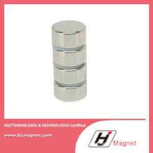 Permanent Sintered Rare Earth Cylinder Neodymium Iron Boron NdFeB Magnet